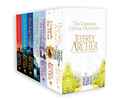 Book cover for The Clifton Chronicles Boxset
